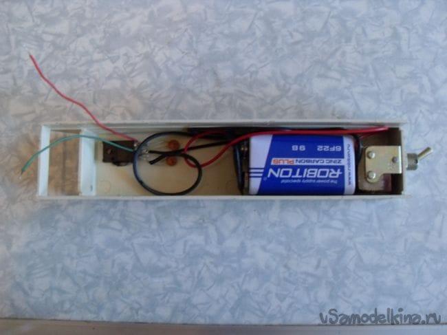 Самодельный power bank для зарядки смартфона из Кроны