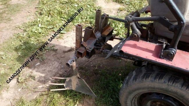 Мини - трактор МТ-2 Алексея Боброва