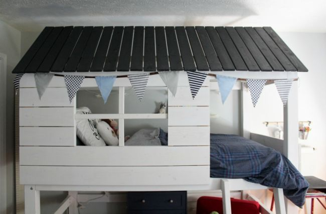Как сделать детскую кровать мечты своими руками