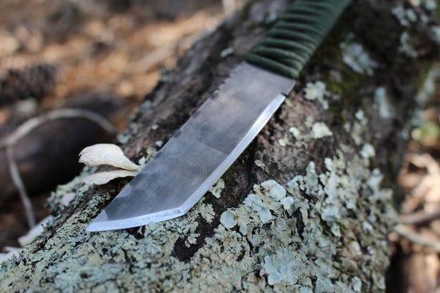 Нож из сабельной пилы