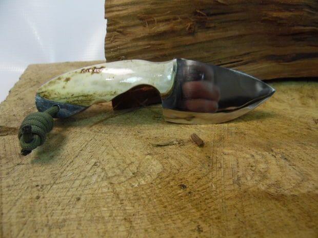 Изготовление ножа из старого тормозного диска