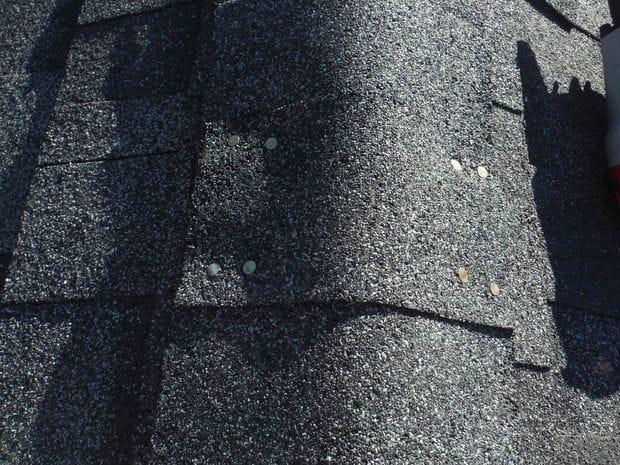 Сарай с мансардной крышей