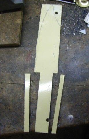 Нож с наборной ручкой из древесины