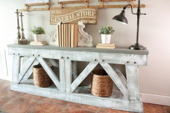 Farmhouse console
