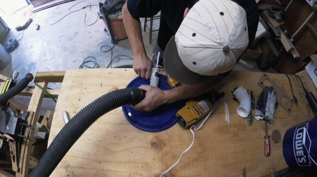 Недорогой и эффективный пылеулавливатель