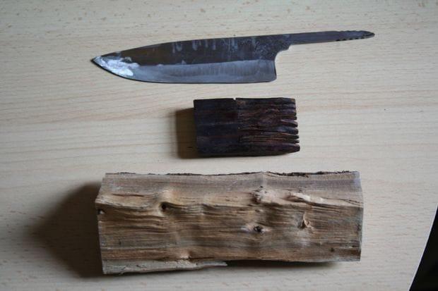Изготавливаем кухонный нож из пильного диска