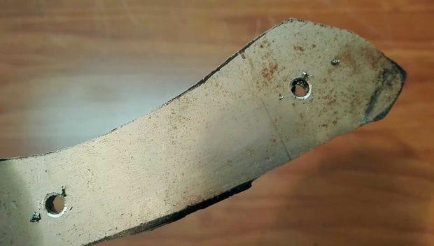 Хороший нож своими руками видео