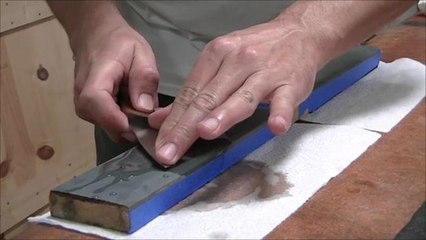 Слабо сделать нож из пильного диска ручными инструментами?