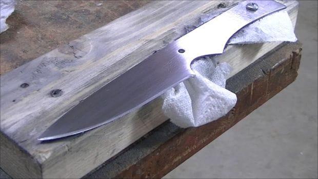 Изготовление ножей из пилы дисков
