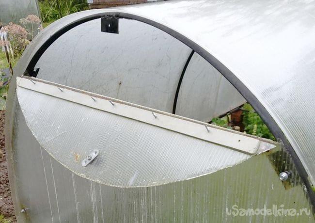 Парник из поликарбоната - готовимся к весне