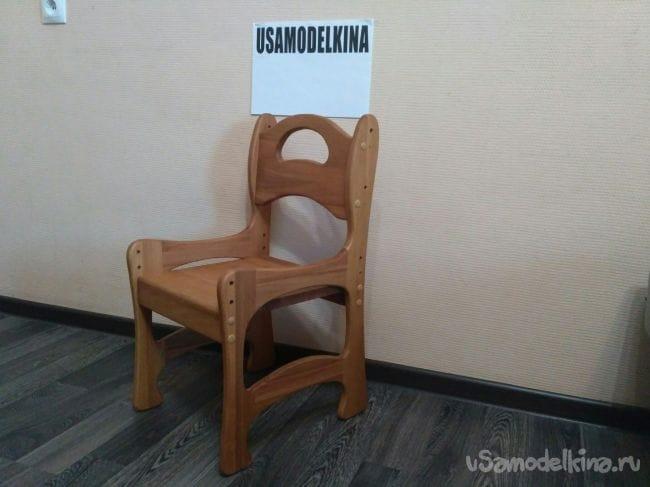 Детский регулируемый стульчик