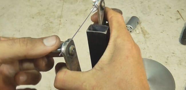 Простой электролобзик своими руками