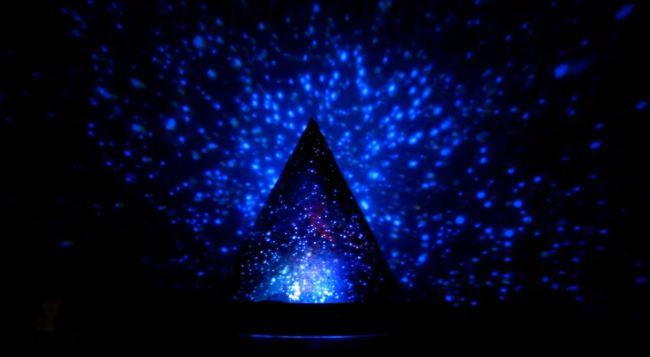 Ночник - проектор звездного неба - своими руками