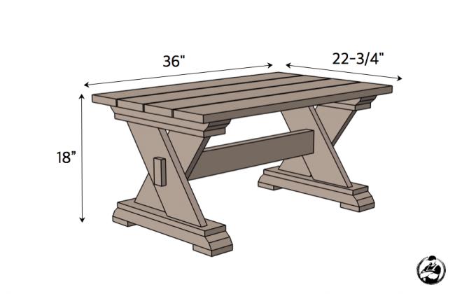 Уличный кофейный столик
