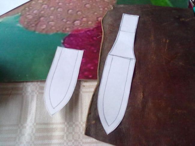 Сделай перочинный ножик сам