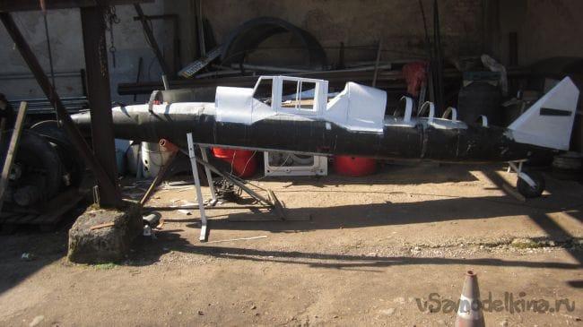 как делал мессершмит 109 из самолетного подвесного бака.