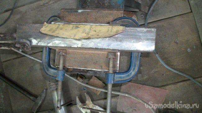 Стенд для снятия пружин со стоек МсPherson
