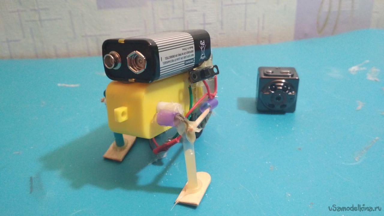Наипростейший робот своими руками фото 669