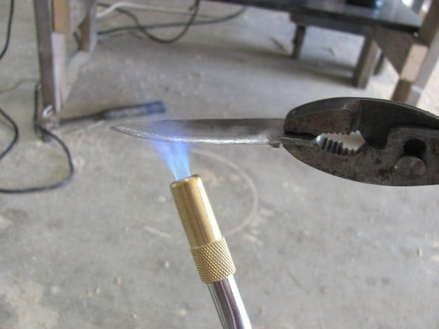 Простой складной нож с нуля