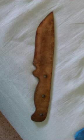 Изготовление ножа привычными инструментами