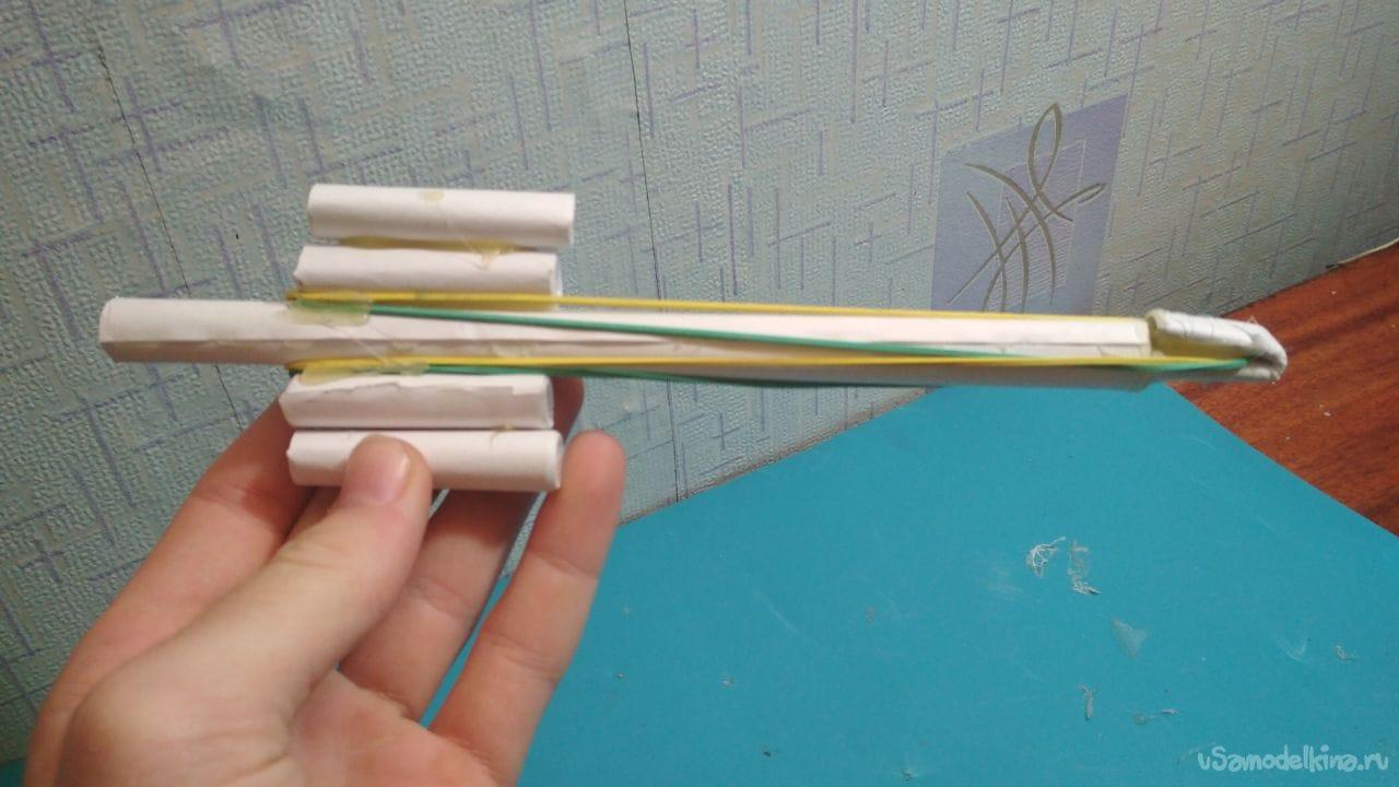 35Как сделать простой автомат из бумаги