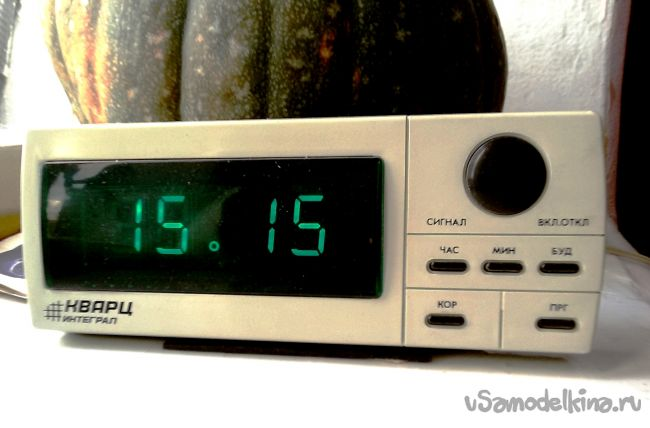Доработка электронных часов Кварц-025 Интеграл