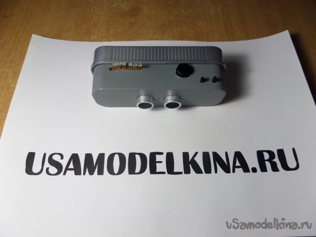 Парктроник на Arduino с ручной регулировкой расстояния