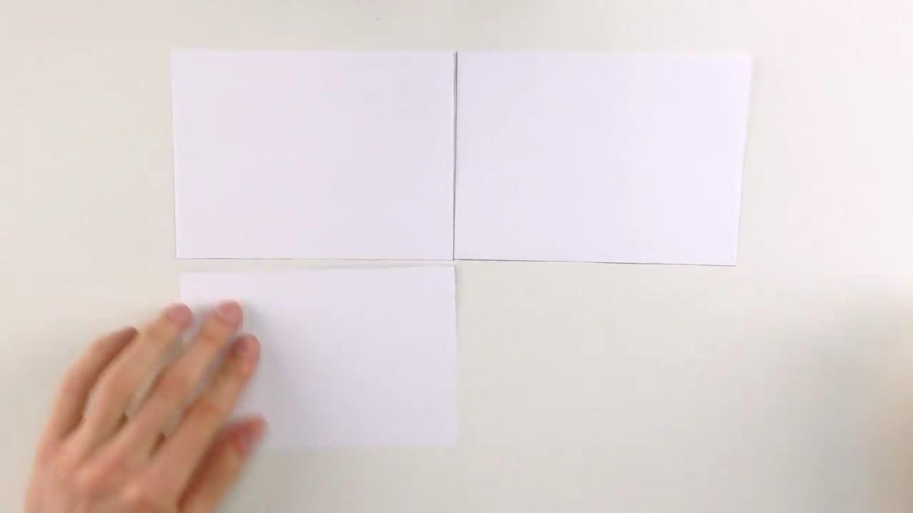 Объемное яблоко из бумаги схема