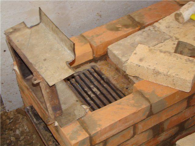 Заделка трещины огнеупорной футеровки
