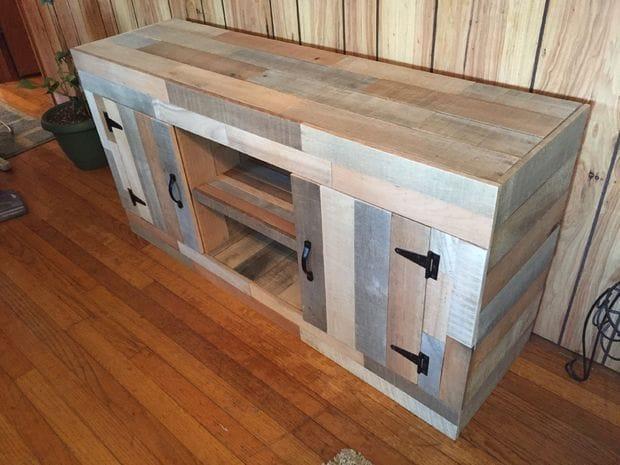 Как сделать столик под аквариум из деревянных поддонов