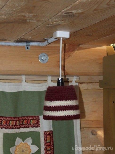 Очень дешевый подвесной светильник для дома