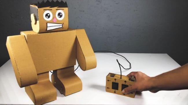 Как сделать своими руками робота в 30