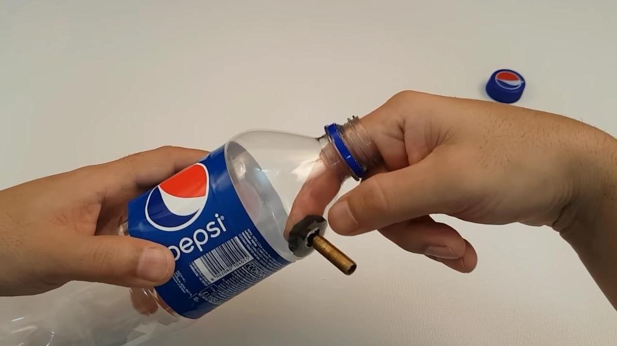Краскопульт из пластиковой бутылки своими руками фото 689