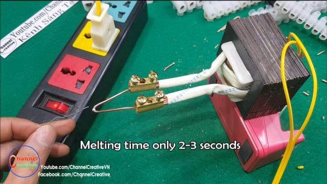Самый быстрый паяльник - нагрев за 2 секунды!