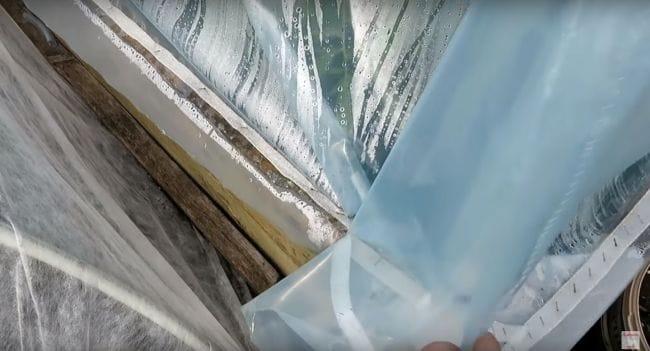 Теплица из пластиковых труб своими руками