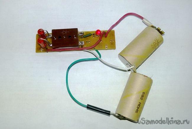 Автоматическое устройство для разряда аккумулятора - Восстанавливаем NiMH аккумуляторы