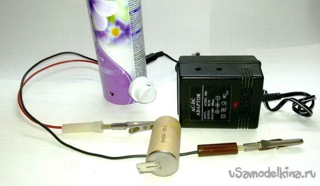 Зарядное устройство для NiMH аккумулятора