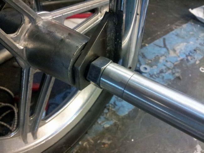 Трицикл на электрической тяге