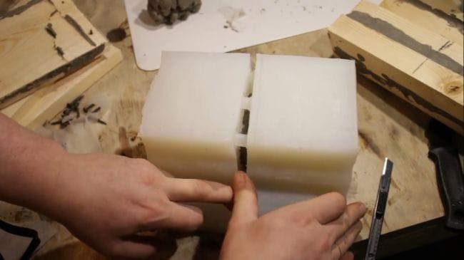 Из чего изготовить форму для отливки