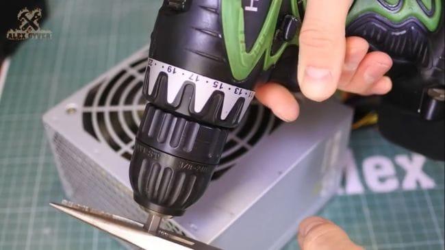 Шуруповерт от сети 220 вольт