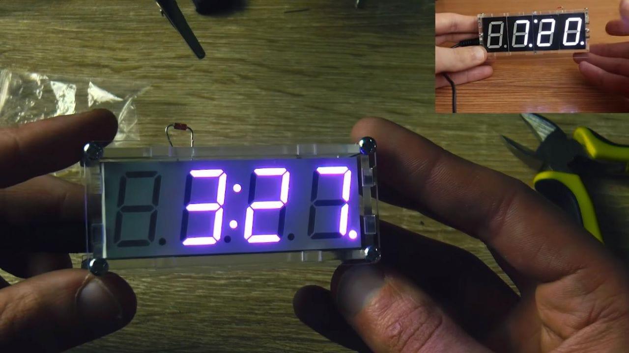 Led часы своими руками фото 638