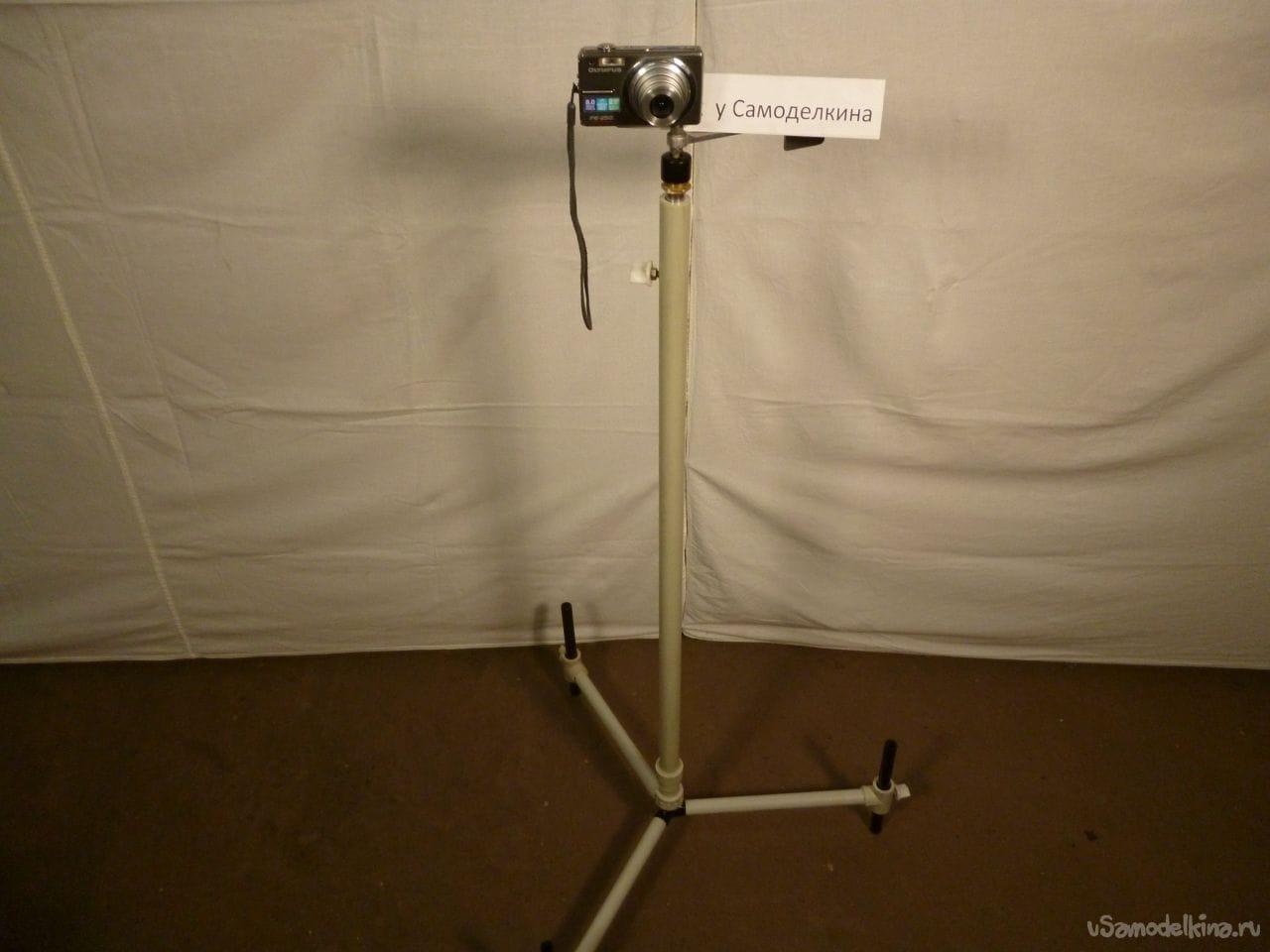 Как самому сделать штатив для фотоаппарата