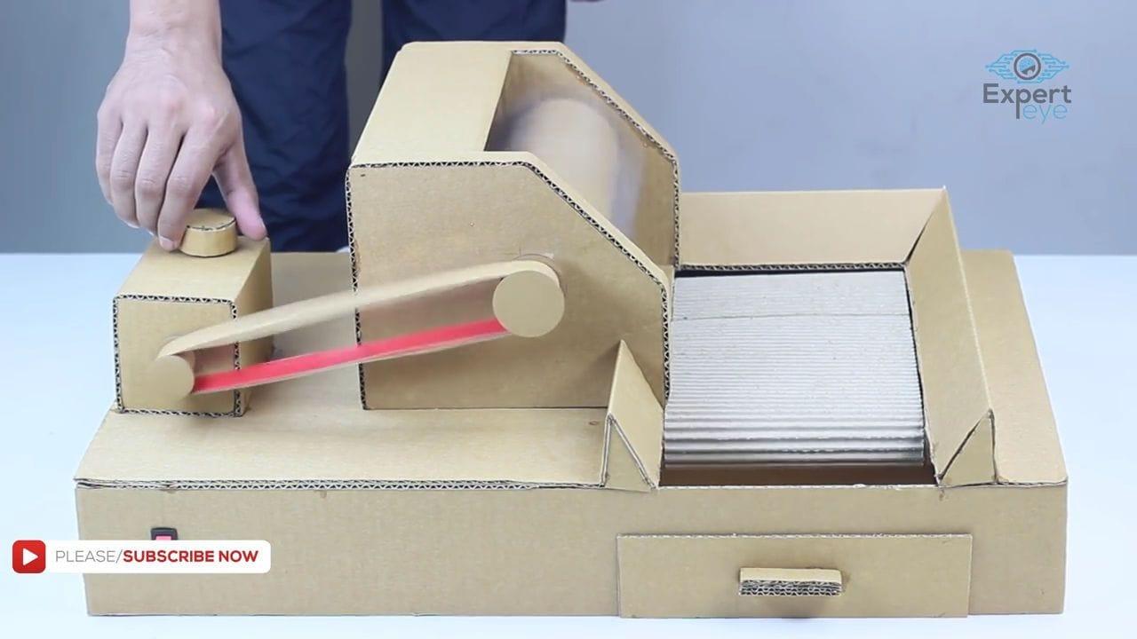 как сделать конвейер своими руками из бумаги
