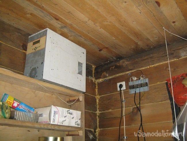 Модернизация фабричной теплицы. Электрические коммуникации, оснащение термостатом, мелочи
