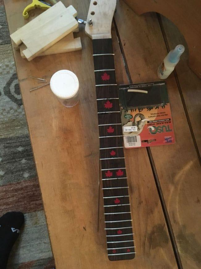 Как сделать свою гитару самому 114