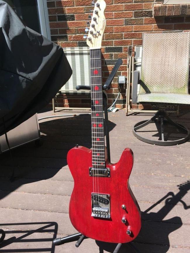 Как сделать свою гитару самому 141