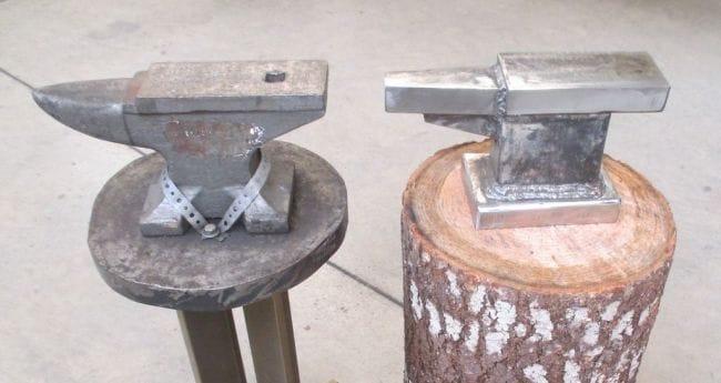 Самодельная наковальня из металлолома