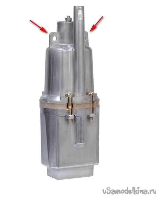 Нестандартный подвес вибрационного насоса, повышенной надежности