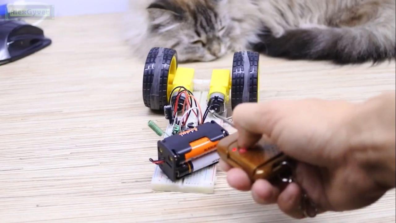 Простой робот шпион своими руками