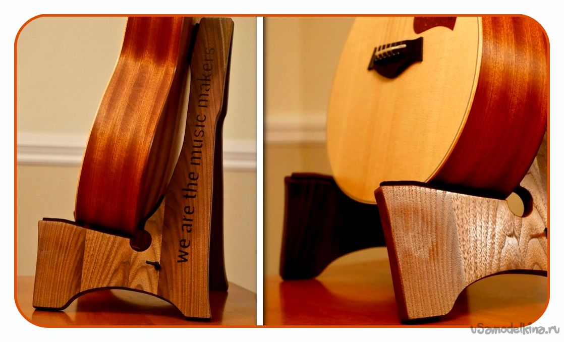 Подставка под гитару своими руками фото 963
